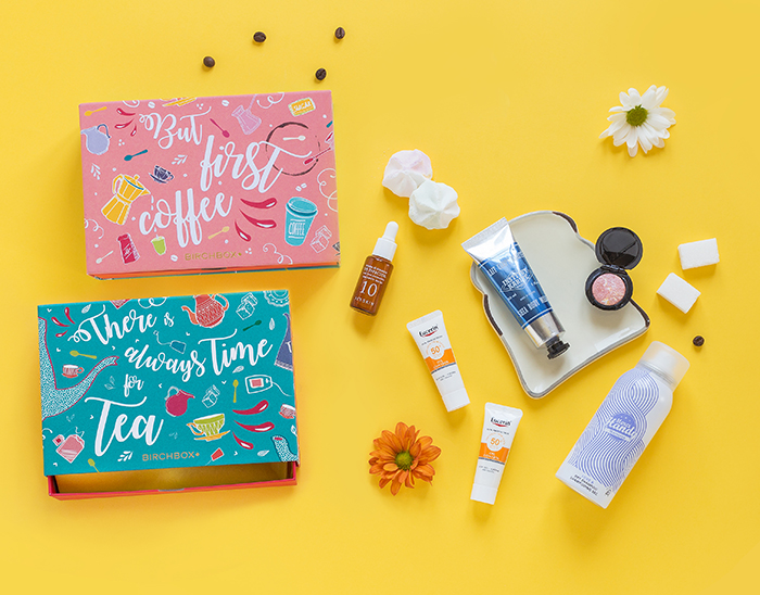 Packaging Birchbox - Cajita reversible ¿Café o té?